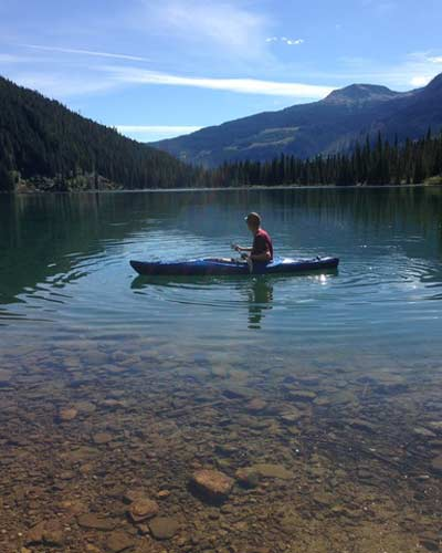 Tranquil Canoeing at Sugar Lake Recreational Properties