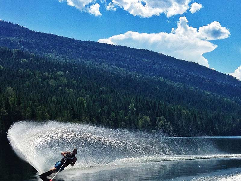 Water Ski Fun at Sugar Lake Recreational Properties